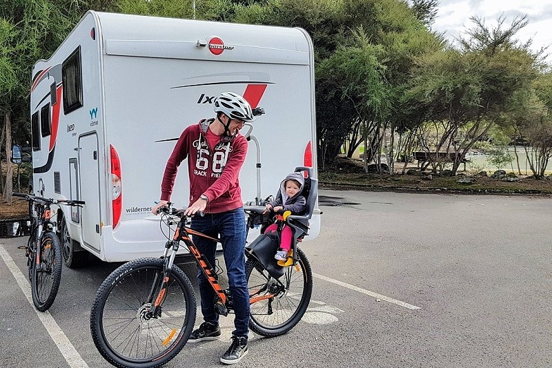 Add a bike to your Wilderness motorhome