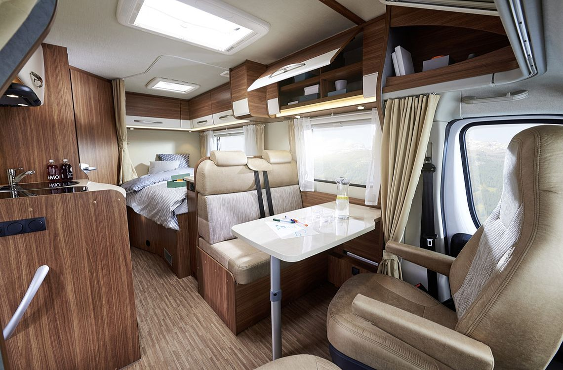 Wilderness compact for 2 motorhome interior layout