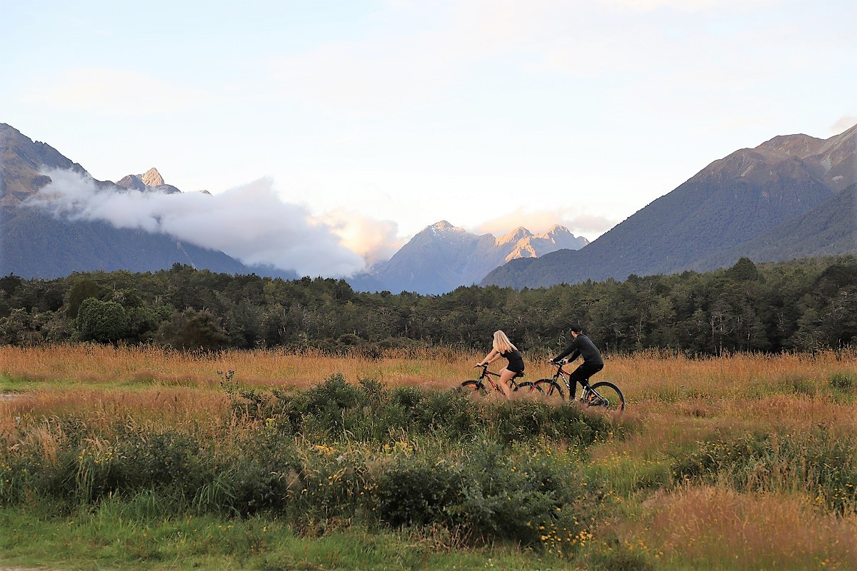Biking on your NZ Campervan holiday