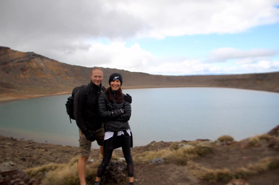 Blue Lake, Tongariro Alpine Crossing