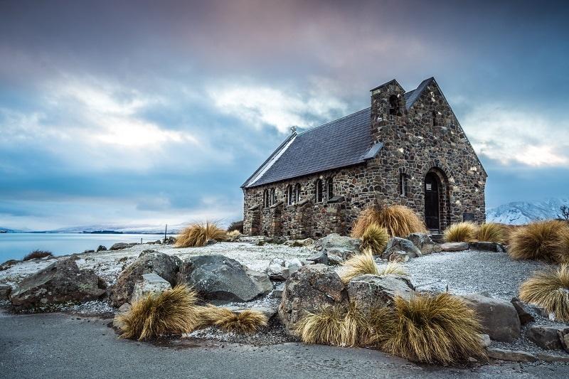 Church of the Good Shepherd Lake Tekapo NZ