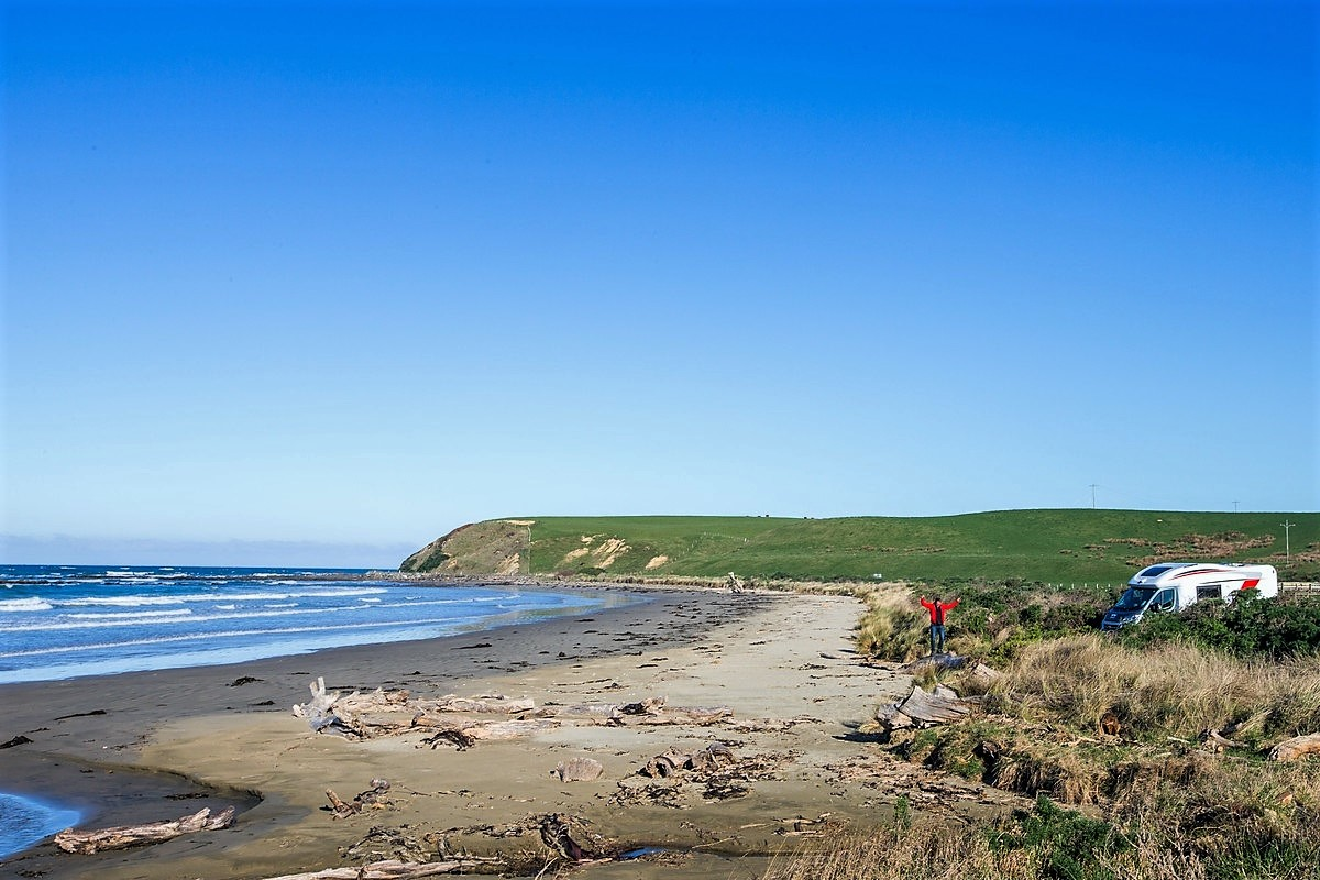 Enjoy freedom camping on your NZ campervan holiday
