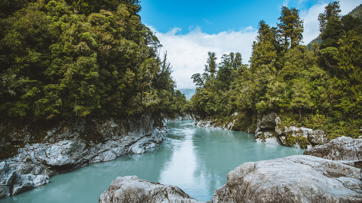 Family Travel New Zealand - Hokitika Gorge