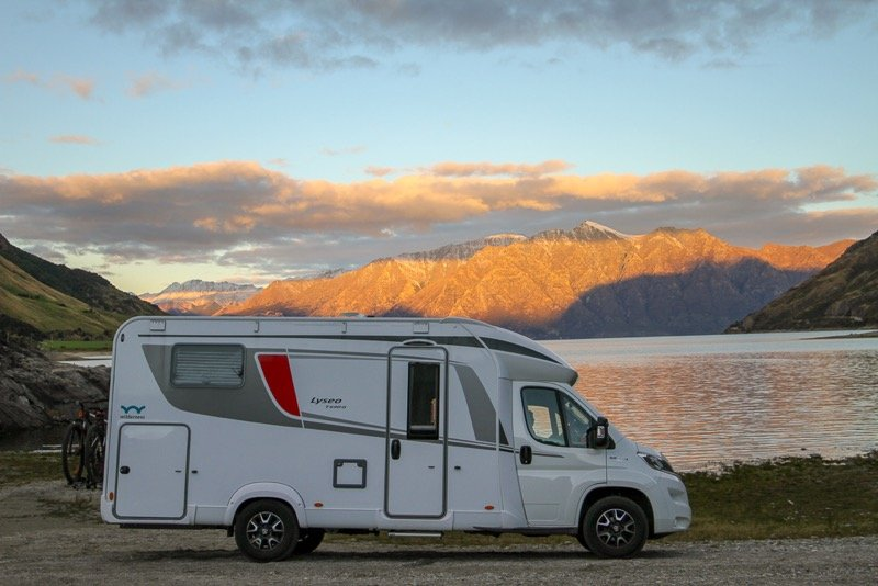 Freedom camping in New Zealand with a Wilderness motorhome