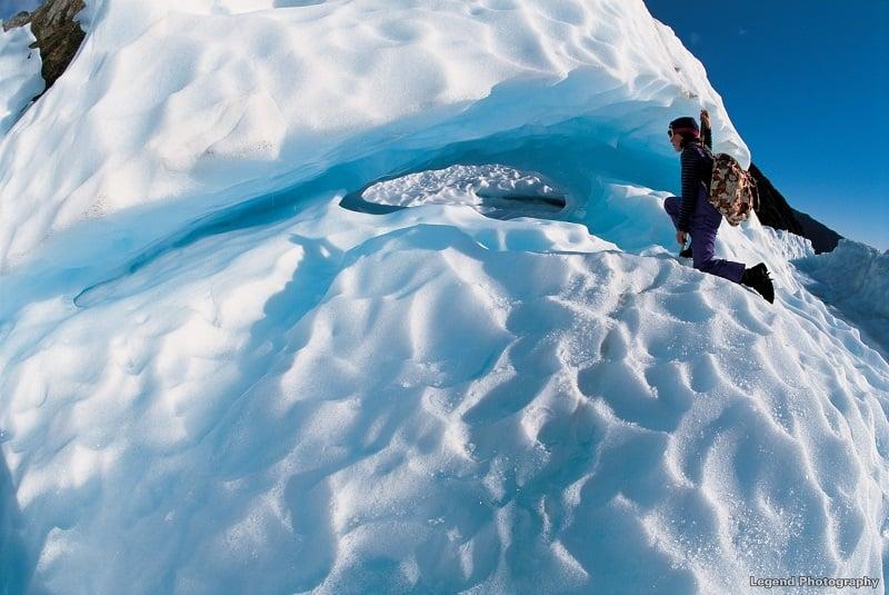 Glacier walk on Fox Glacier New Zealand
