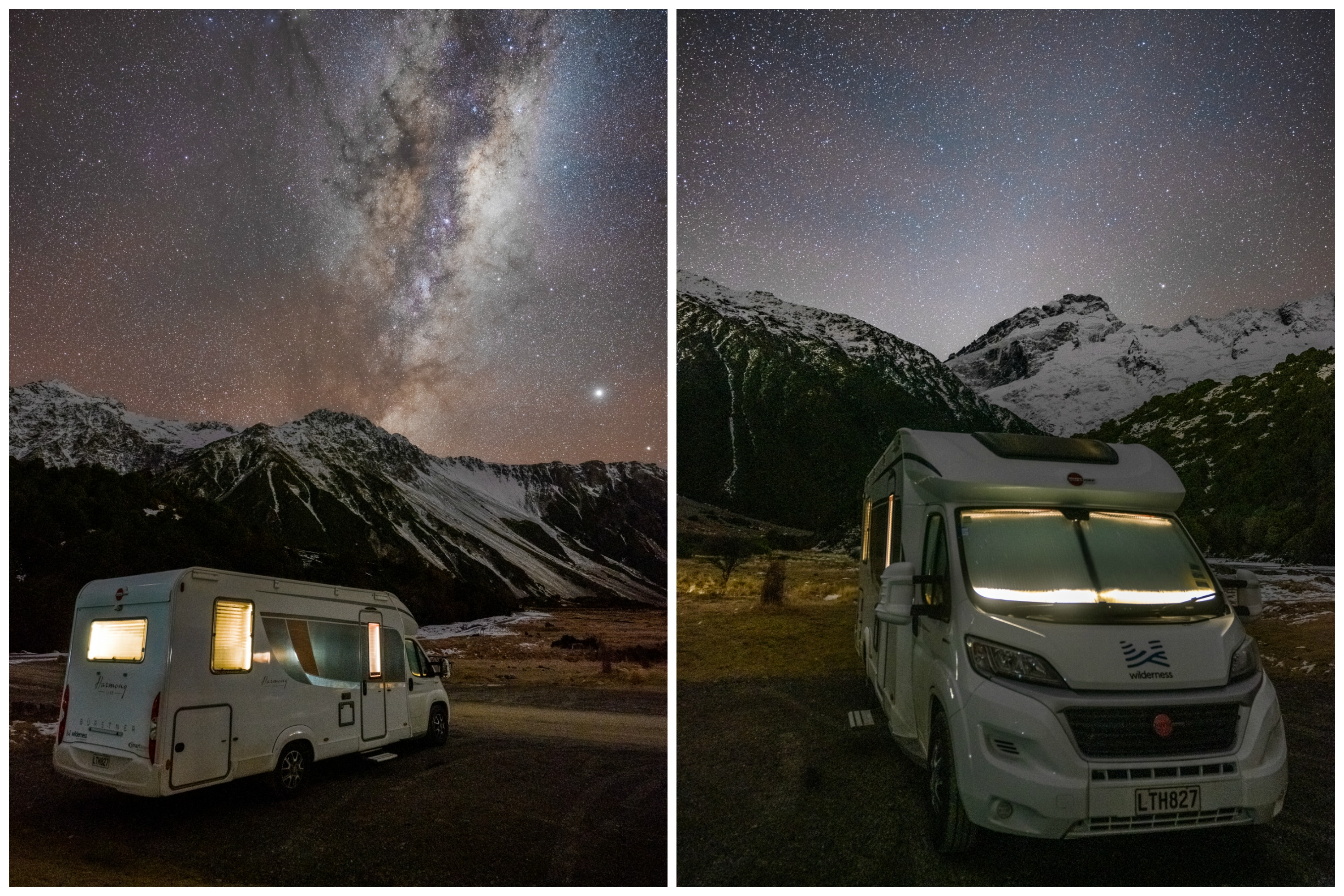 Wilderness-motorhome-Mt.Cook-under-the-stars