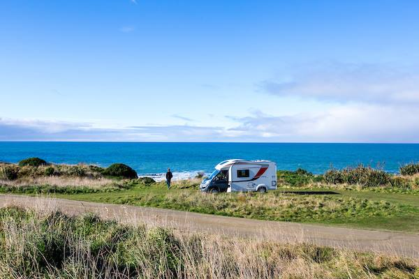 Flea visits the Catlins with her Wilderness motorhome
