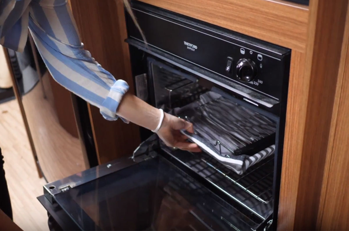 Motorhome Basics - Kitchen