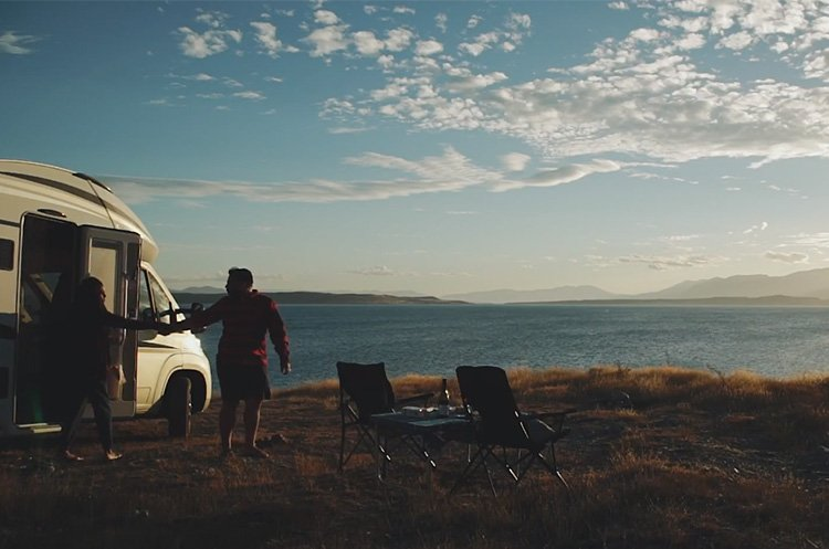 Couple-enjoys-novel-travel-experience-of-Wilderness-Motorhome