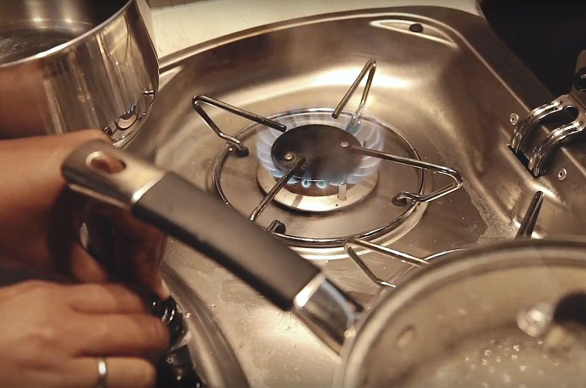 Motorhome-cooktop