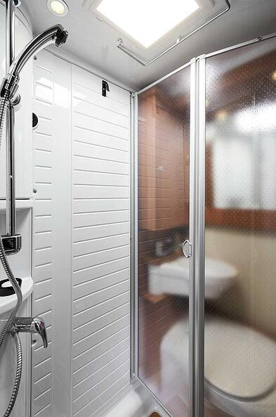 Shower-in-motorhome