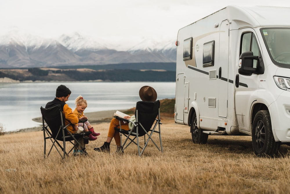 family toddler motorhome south island