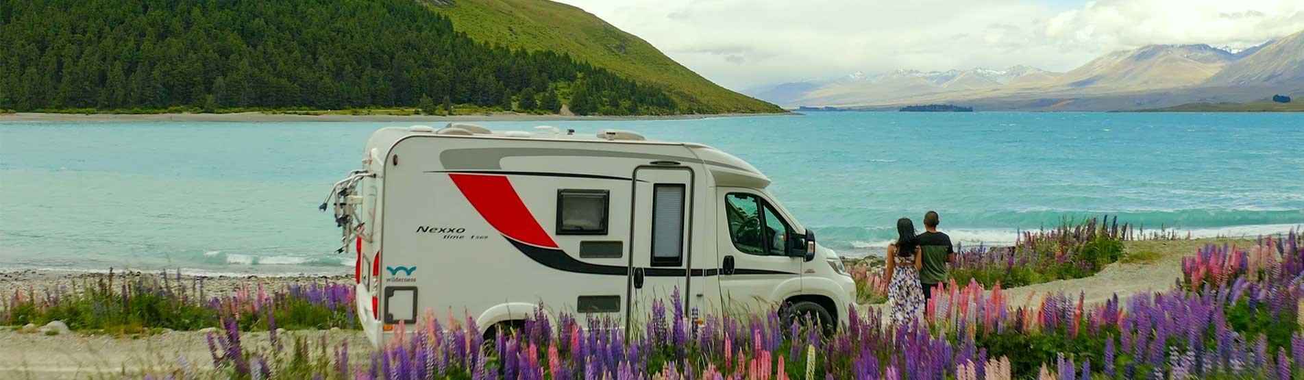 Motorhomes & Campervan Hire New Zealand   Wilderness