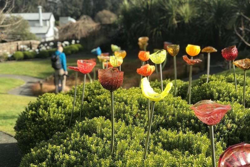 Lava Glass sculpture garden