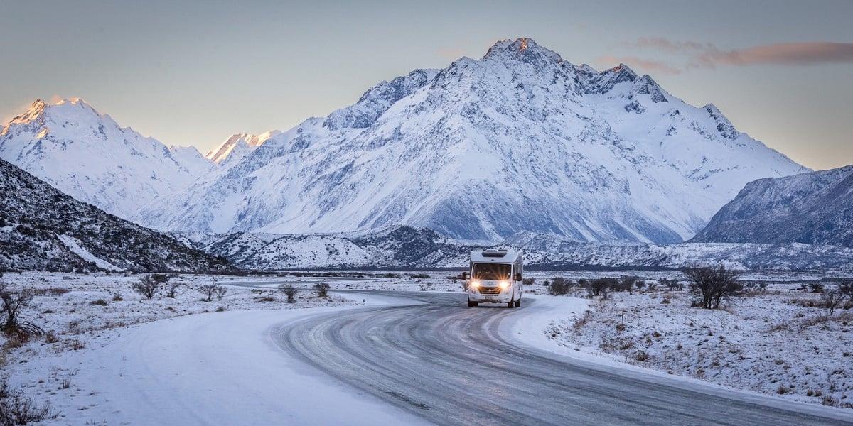 new zealand road trip motorhome rental wilderness
