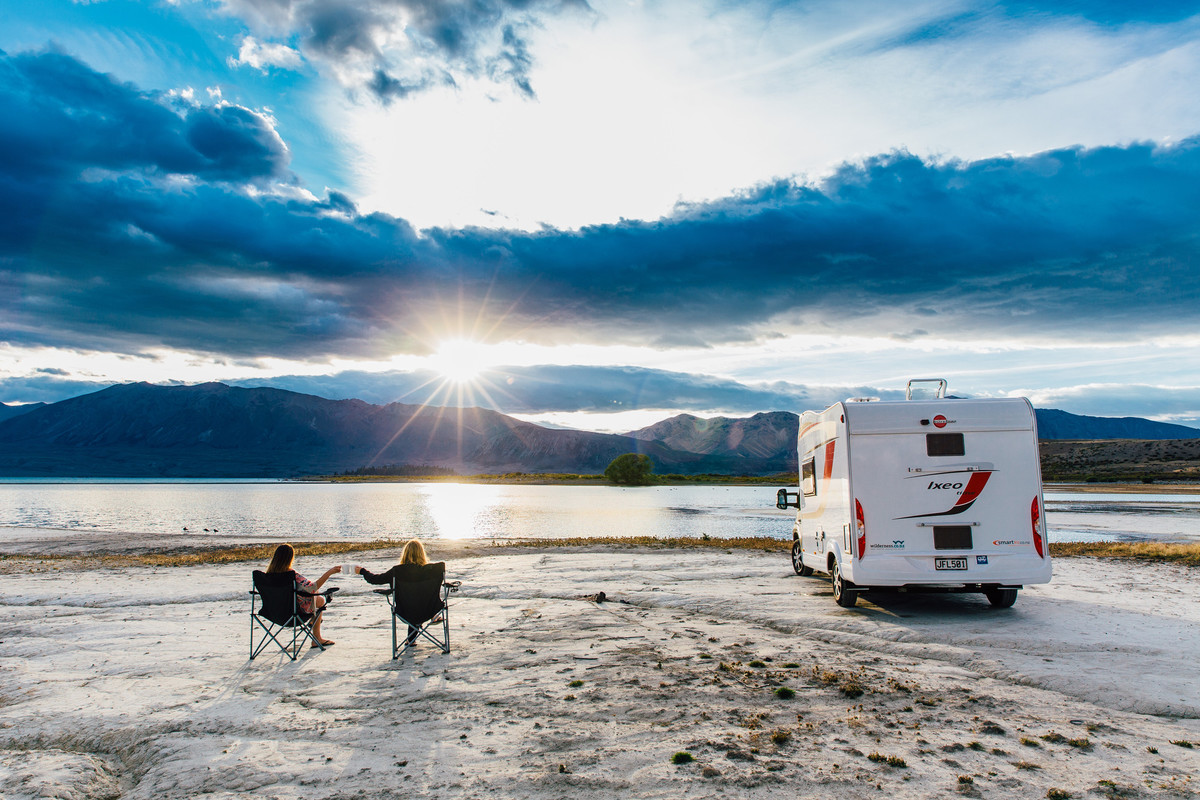 Freedom camping and being respectful of the enviroment on your NZ campervan holiday