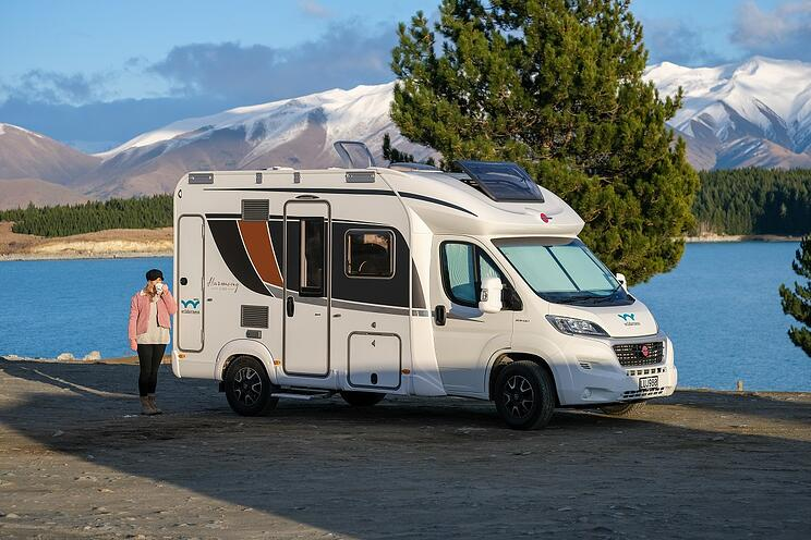 Lake Pukaki overnight freedom camping