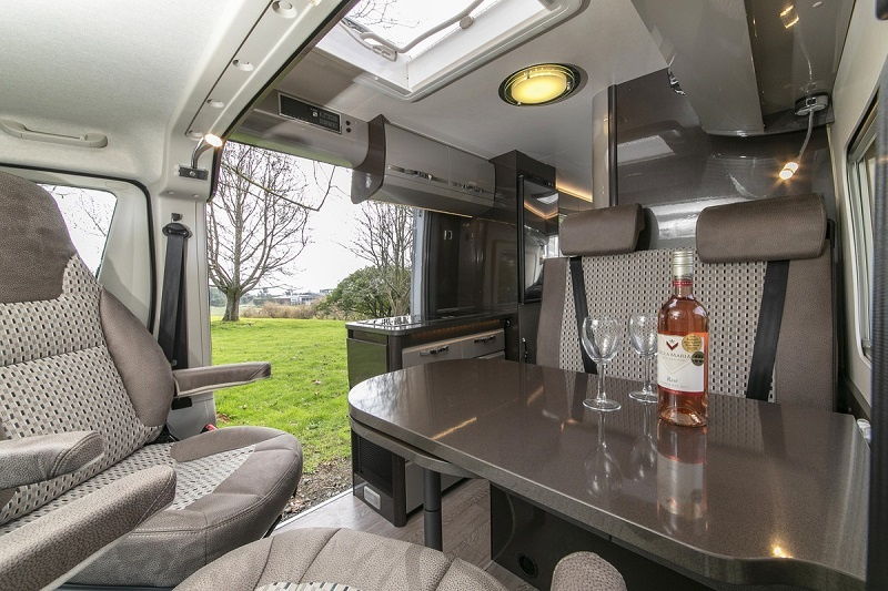 New Zealand Campervan rental - Vista 2 from Wilderness Motorhomes - Lounge