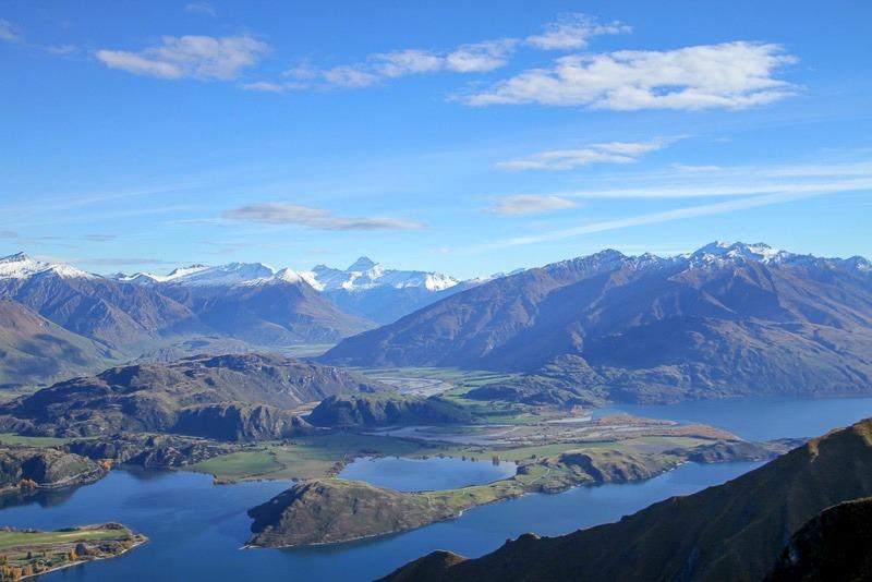 Roy's Peak track in Wanaka New Zealand