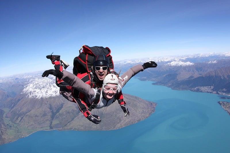 Skydiving in Queenstown New Zealand