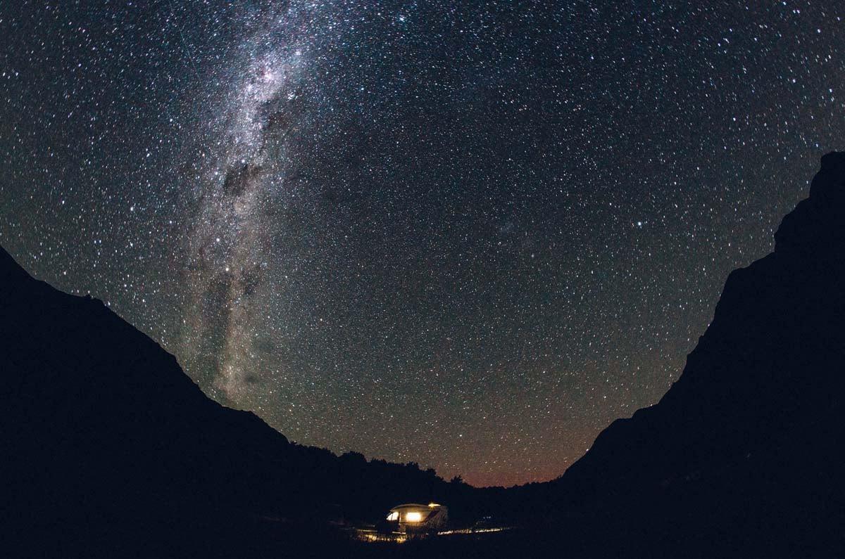 Sleep under the NZ stars