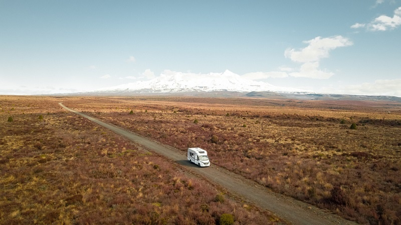 Travel New Zealand Anywhere in a Wilderness Motorhome