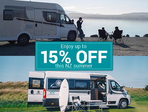 Upto 15% Off Summer Motorhome Special