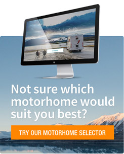 TRY OUR MOTORHOME SELECTOR