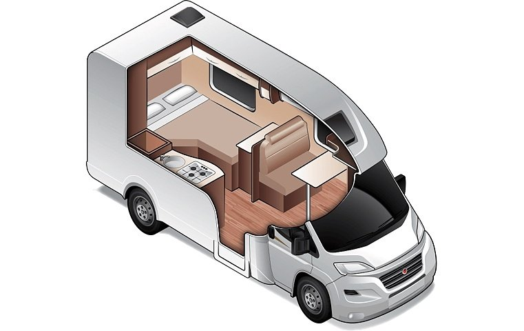 Compact for 2 - Small Two Berth Motorhome | Wilderness Motorhomes - Interior #2