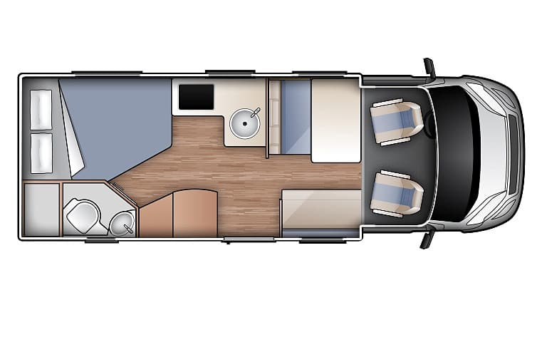 Compact for 4 - Four Berth Motorhome | Wilderness Motorhomes - Interior #1