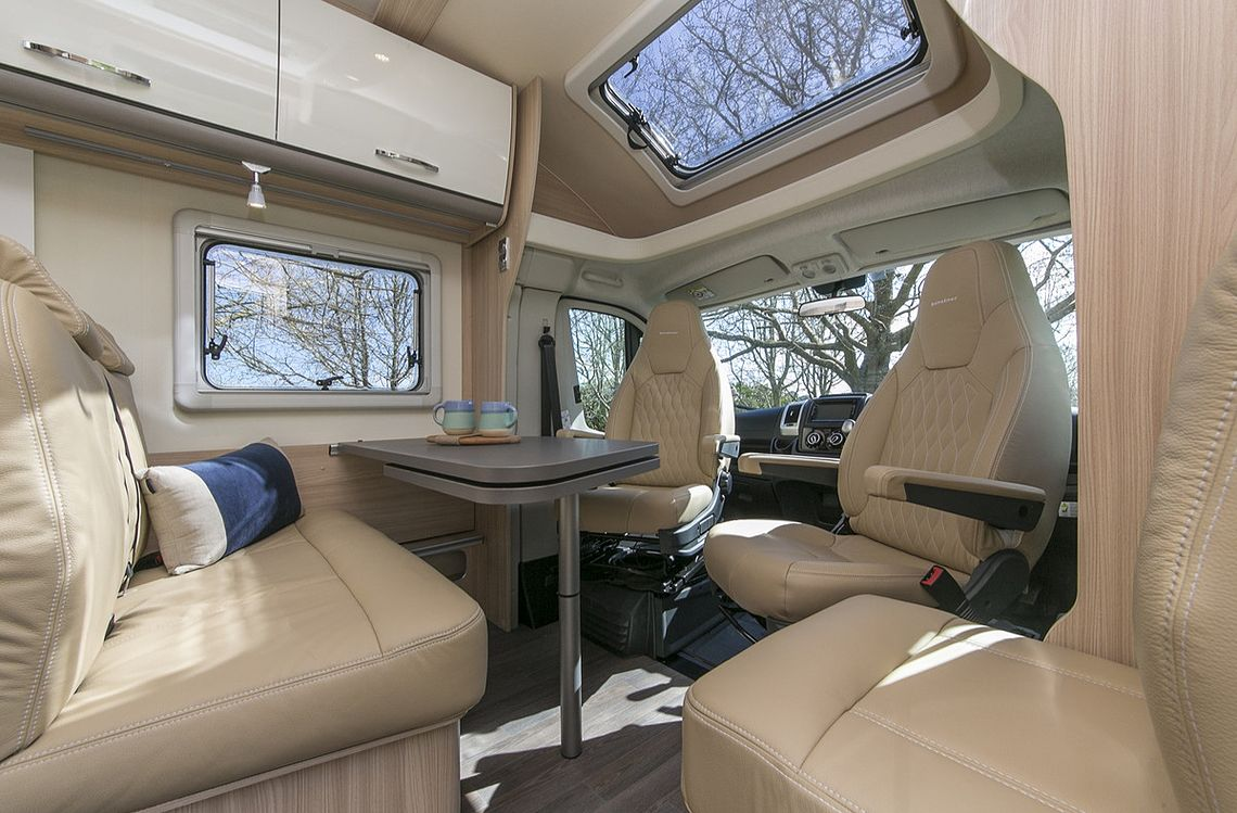 Double for 2 Motorhome - Lounge