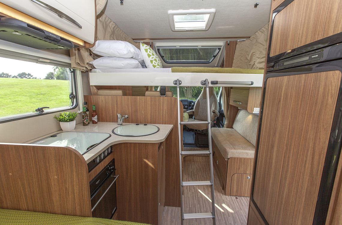 Compact 4-berth - Second bed