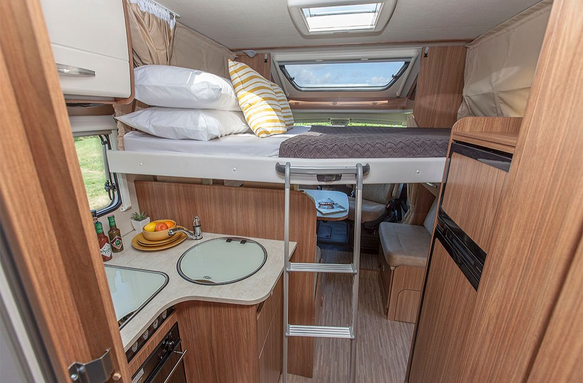 Double for 4 Motorhome - Second Bed