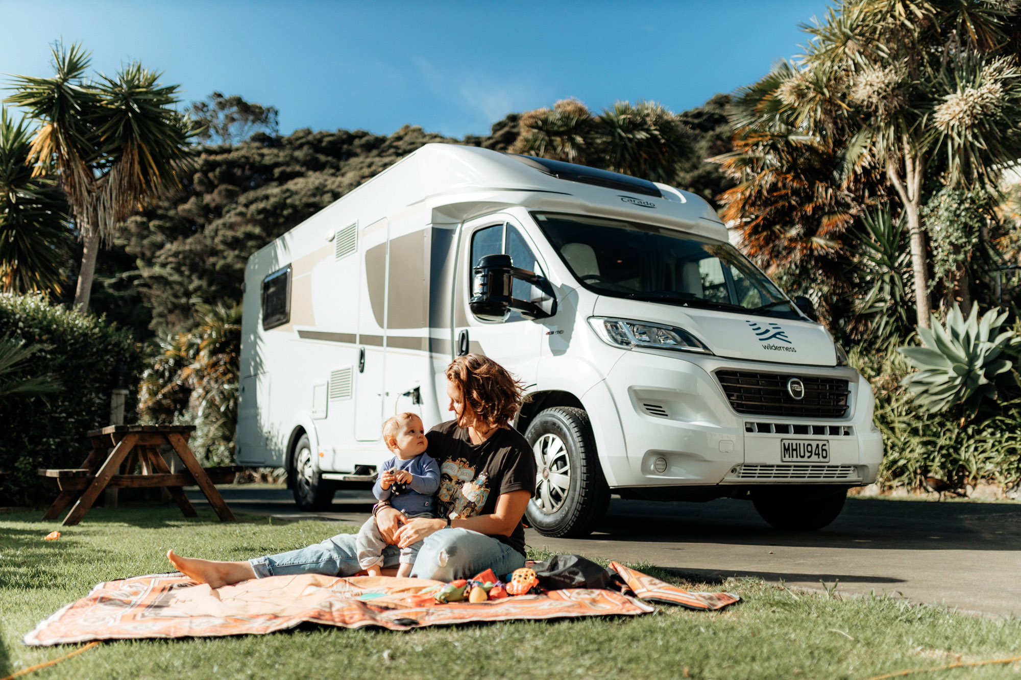 10 Day Campervan Itinerary: Northland with a Baby