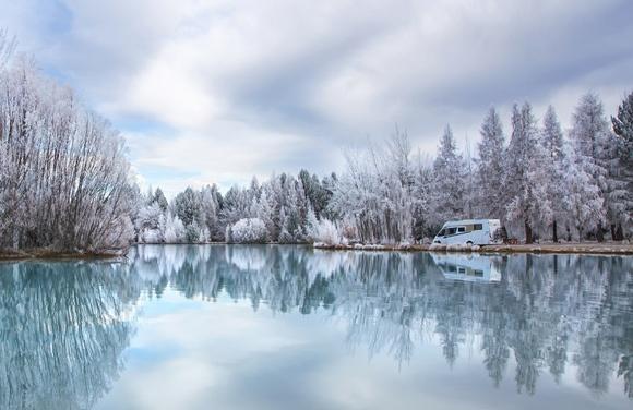 Motorhome Travel in Winter