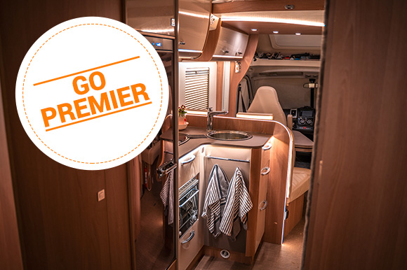 Upgrade to a Premier motorhome