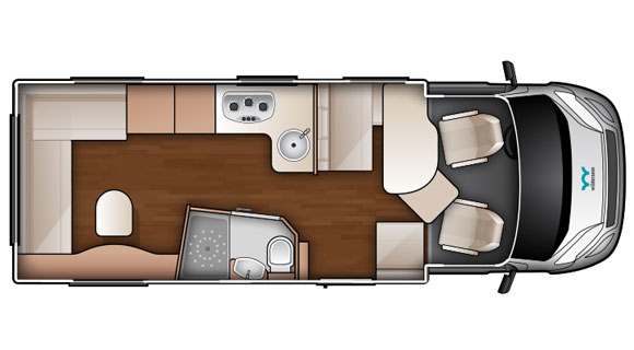 Day-time Floorplan