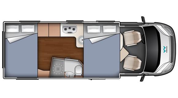Night-time Floorplan