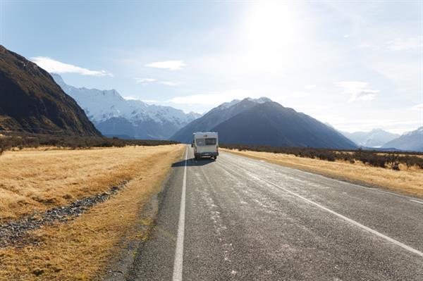 HighWay Mt Cook Wilderness