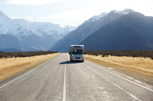 Highway Mount Cook Touring