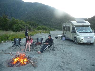 motorhome, rent, south island