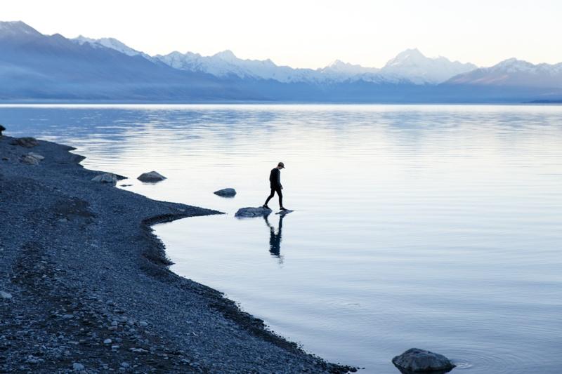 Lake Pukaki Campervan Camping