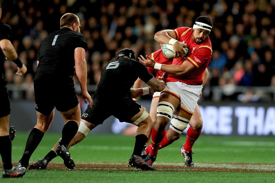 All Blacks playing the Lions