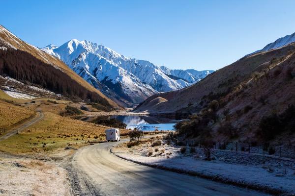 Rachel Stewart's New Zealand motorhome adventure - Moke Lake