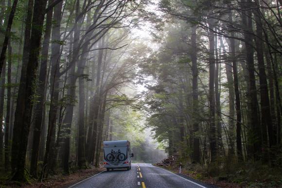 South Island Motorhome Road Trip