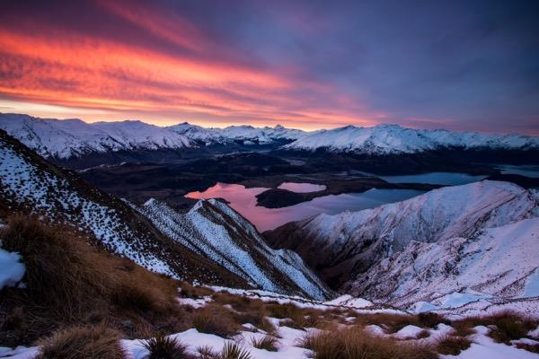 Discover Roys Peak in your New Zealand motorhome rental
