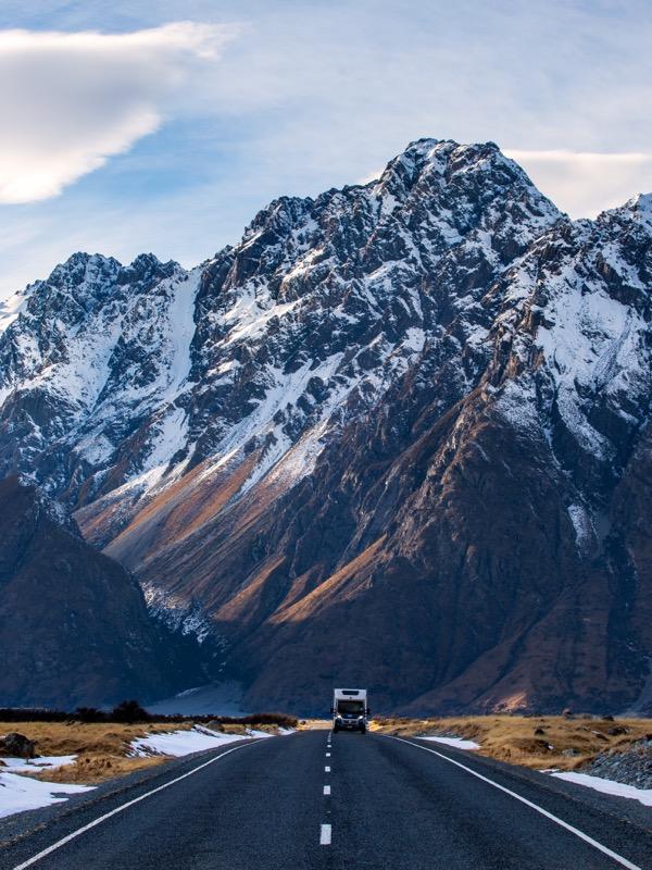 Rach Stewart Wilderness Tasman Valley
