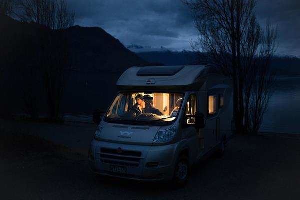 Wanaka at Night Camping