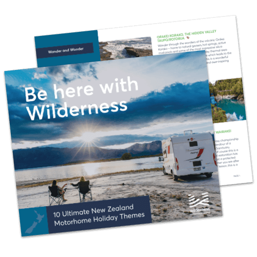 Wilderness Motorhomes New Zealand Holiday Themes eBook